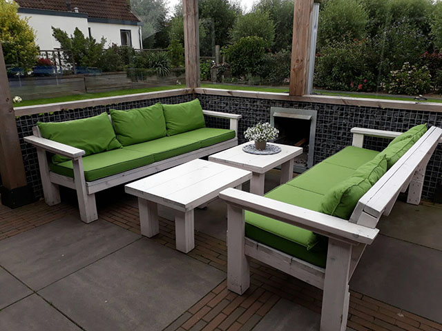 loungebank terras